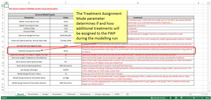 Treatment Assignment Mode in the DMS File - DMS File
